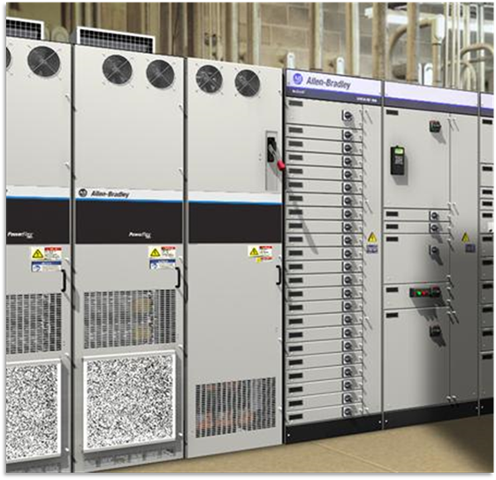 Acople de PowerFlex 755 HighPower con CCM Centerline 2500 IEC