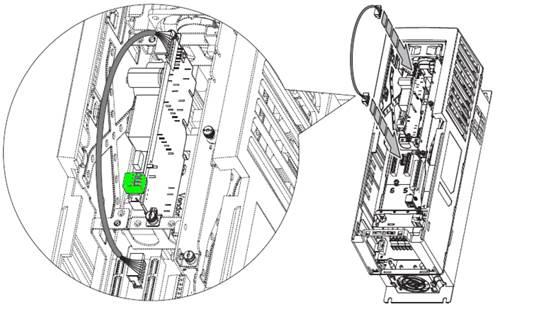 Instalación de Fuente Auxiliar de Poder 20-750-APS en PowerFlex 753