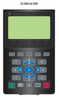 Pantalla 20-HIM-A6 disponible para variadores PowerFlex 750