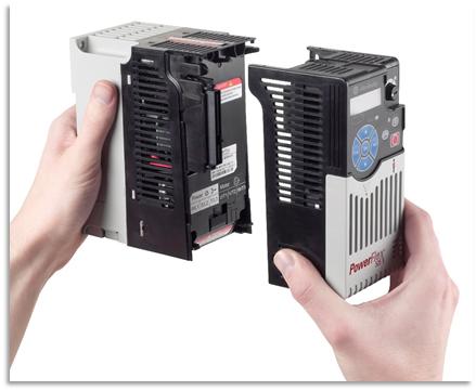 Diseño modular Variador PowerFlex 525
